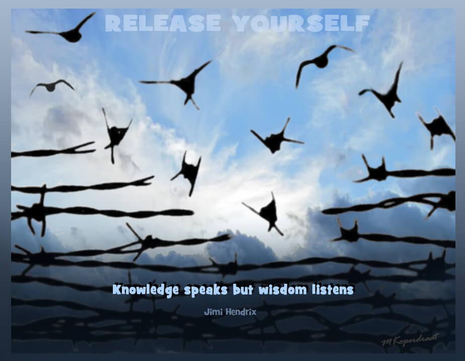 Kennis spreekt, wijsheid luistert
